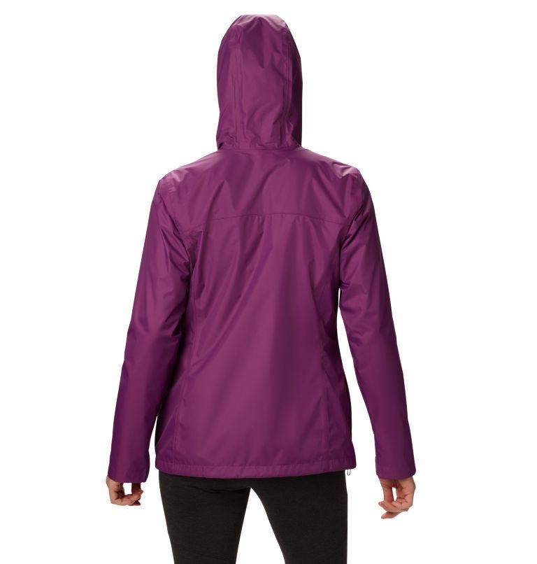 Arcadia™ II Jacket | 594 | L Women's Arcadia™ II Rain Jacket, Wild Iris, back