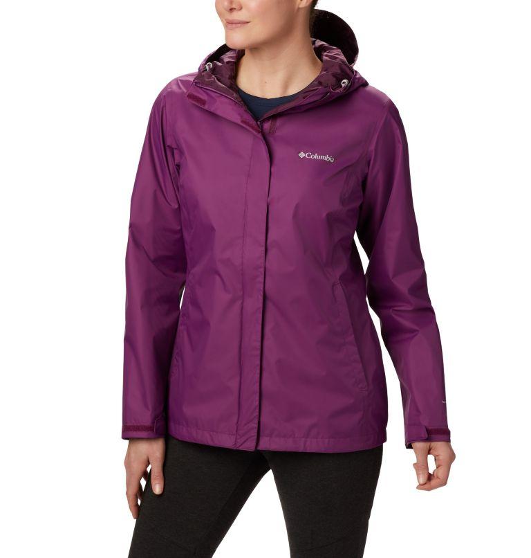 Arcadia™ II Jacket | 594 | L Women's Arcadia™ II Rain Jacket, Wild Iris, front