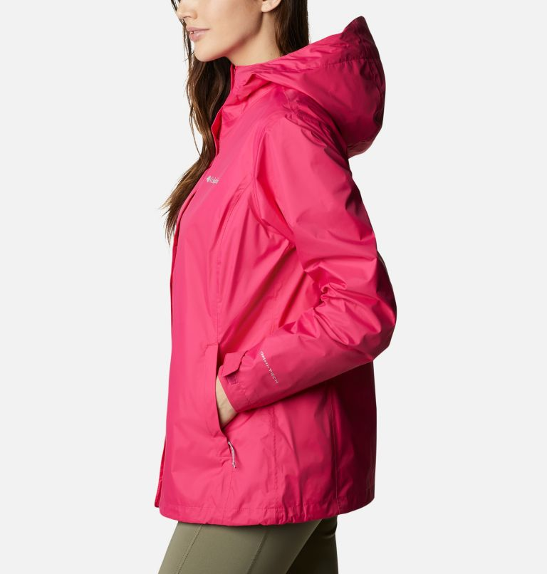 Arcadia™ II Jacket | 613 | S Women's Arcadia™ II Rain Jacket, Cactus Pink, a1