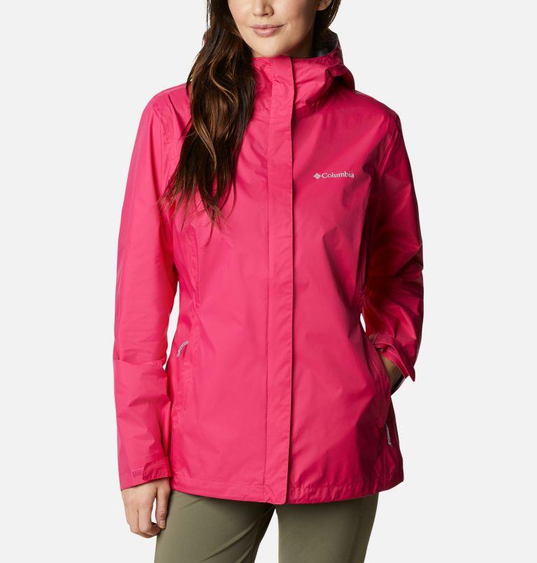 Arcadia™ II Jacket | 613 | S Women's Arcadia™ II Rain Jacket, Cactus Pink, front