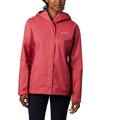 Women's Arcadia™ II Rain Jacket Arcadia™ II Jacket | 772 | M, Rouge Pink, Red Orchid, front