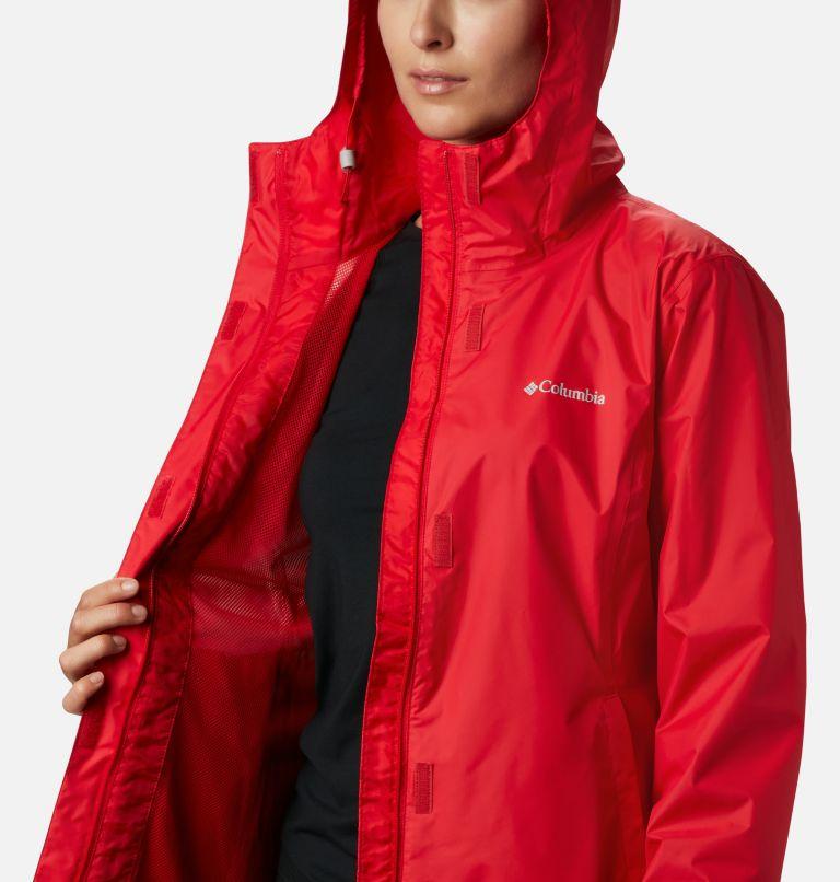 Arcadia™ II Jacket | 658 | XS Women's Arcadia™ II Rain Jacket, Red Lily, a3