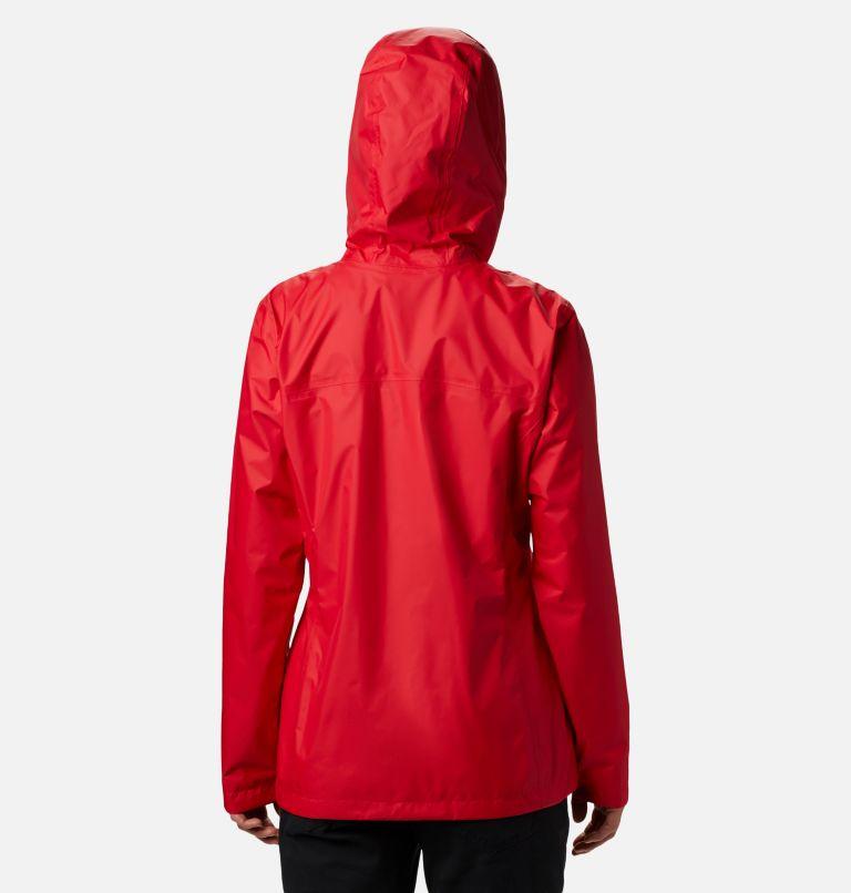 Arcadia™ II Jacket | 658 | XS Women's Arcadia™ II Rain Jacket, Red Lily, back