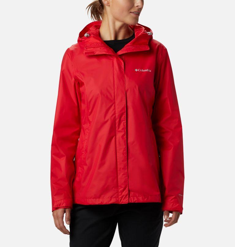 Arcadia™ II Jacket | 658 | XS Women's Arcadia™ II Rain Jacket, Red Lily, front