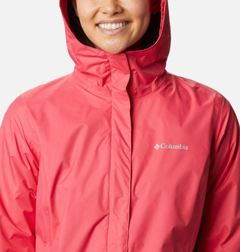 Arcadia™ II Jacket | 674 | S Women's Arcadia™ II Rain Jacket, Bright Geranium, a2