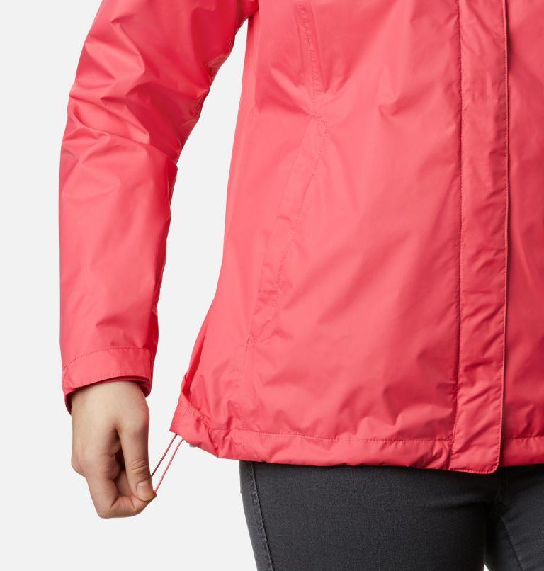 Arcadia™ II Jacket | 674 | XS Women's Arcadia™ II Rain Jacket, Bright Geranium, a4