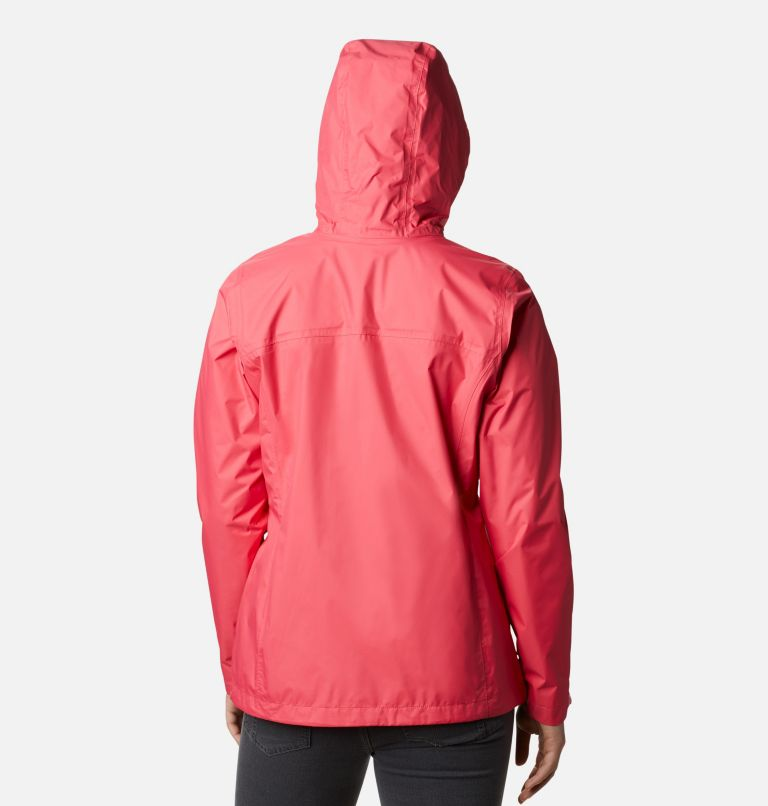 Arcadia™ II Jacket | 674 | XL Women's Arcadia™ II Rain Jacket, Bright Geranium, back