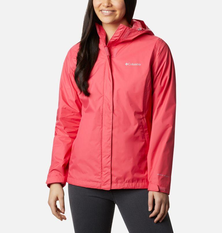 Arcadia™ II Jacket | 674 | L Women's Arcadia™ II Rain Jacket, Bright Geranium, front