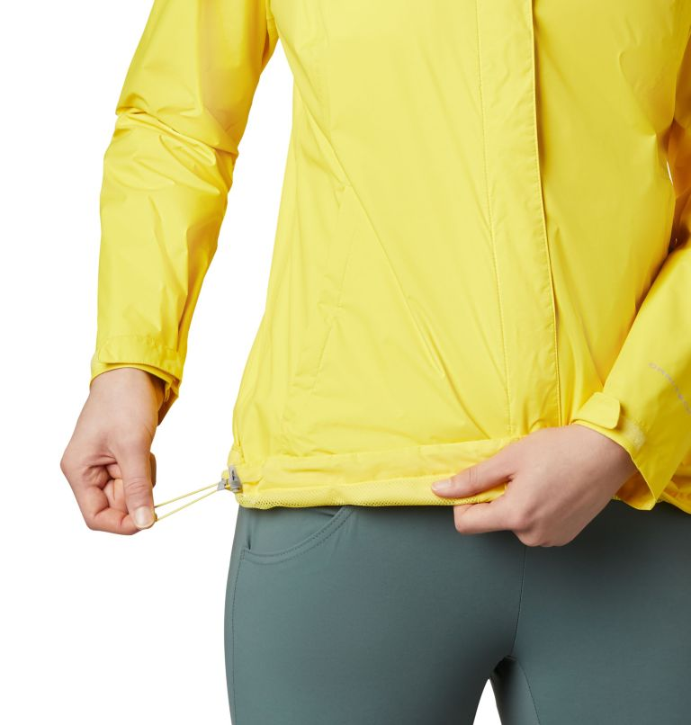 Arcadia™ II Jacket | 729 | XS Women's Arcadia™ II Rain Jacket, Buttercup, a2
