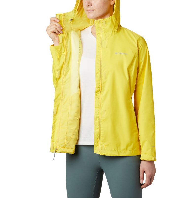 Arcadia™ II Jacket | 729 | M Women's Arcadia™ II Rain Jacket, Buttercup, a3