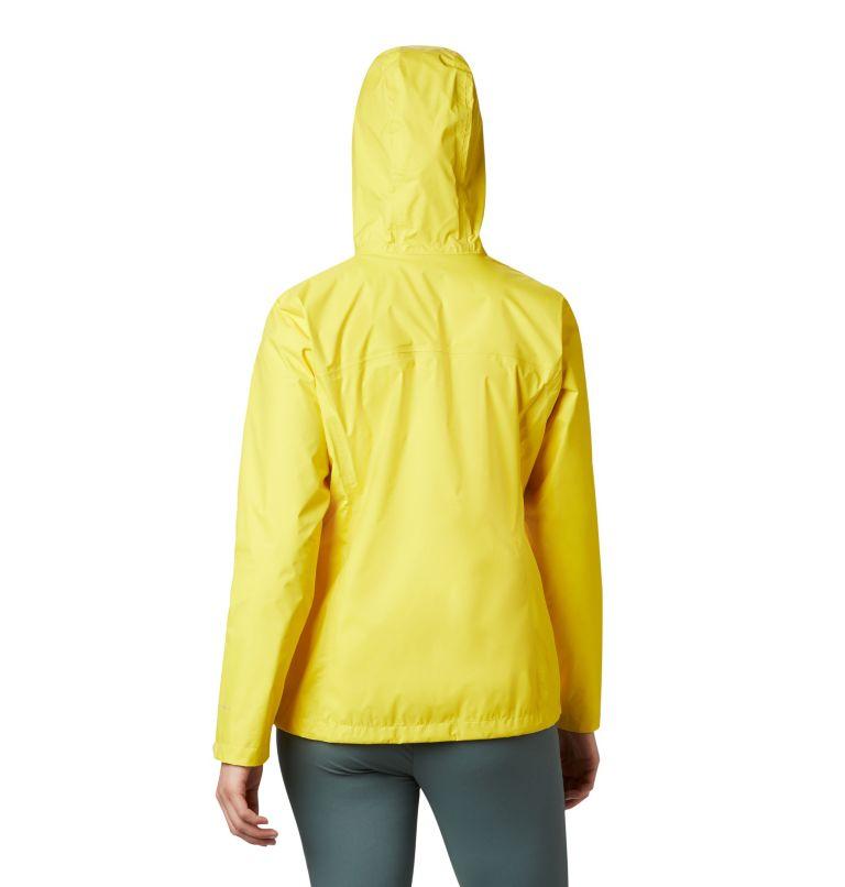 Arcadia™ II Jacket   729   S Women's Arcadia™ II Rain Jacket, Buttercup, back