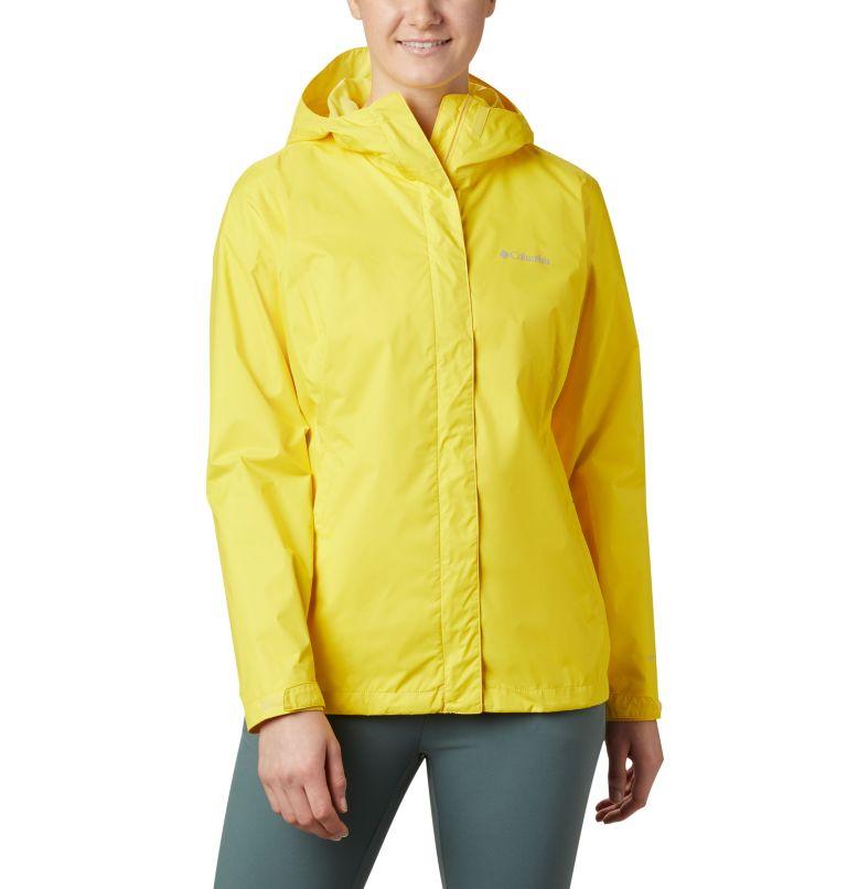 Arcadia™ II Jacket | 729 | M Women's Arcadia™ II Rain Jacket, Buttercup, front