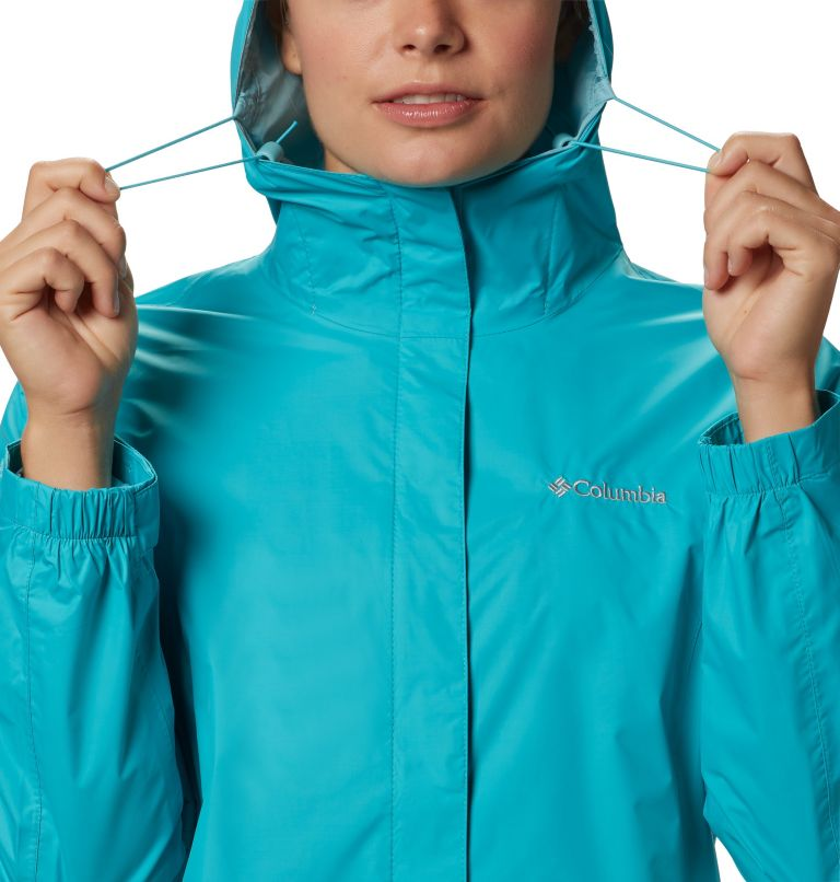 Arcadia™ II Jacket | 735 | XS Women's Arcadia™ II Rain Jacket, Geyser, a2