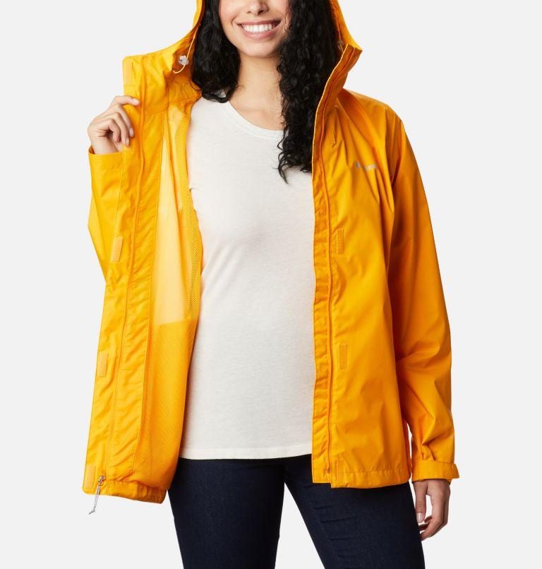 Arcadia™ II Jacket | 772 | S Women's Arcadia™ II Rain Jacket, Bright Marigold, a3