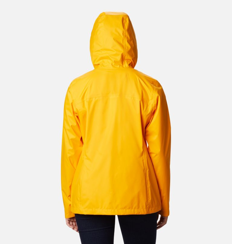 Arcadia™ II Jacket | 772 | S Women's Arcadia™ II Rain Jacket, Bright Marigold, back