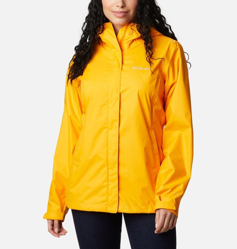 Arcadia™ II Jacket | 772 | S Women's Arcadia™ II Rain Jacket, Bright Marigold, front