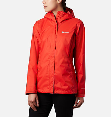 Women's Arcadia™ II Rain Jacket Arcadia™ II Jacket | 772 | XS, Bold Orange, front