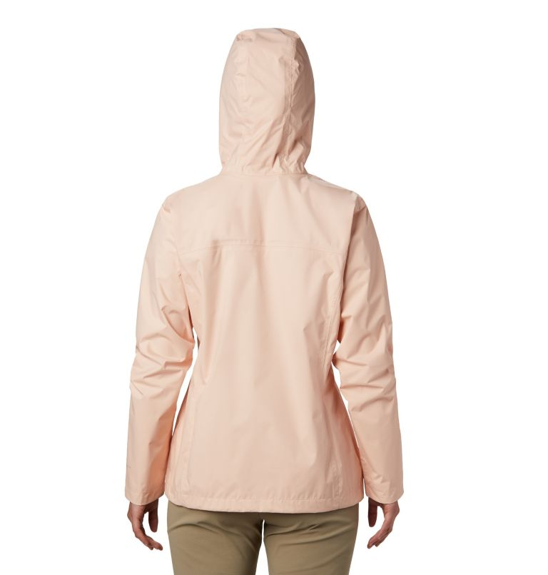 Arcadia™ II Jacket | 870 | S Women's Arcadia™ II Rain Jacket, Peach Cloud, back