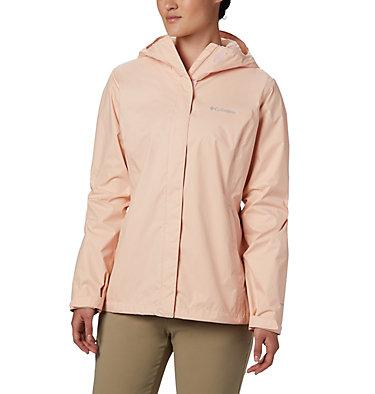 Women's Arcadia™ II Rain Jacket Arcadia™ II Jacket | 582 | M, Peach Cloud, front
