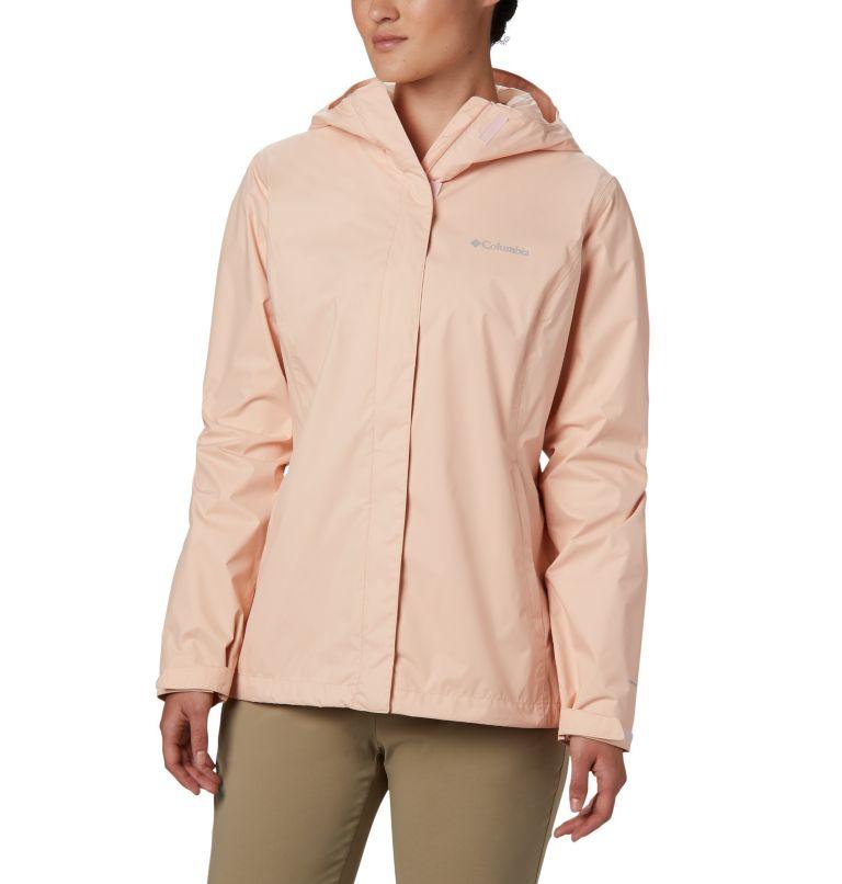 Arcadia™ II Jacket | 870 | S Women's Arcadia™ II Rain Jacket, Peach Cloud, front