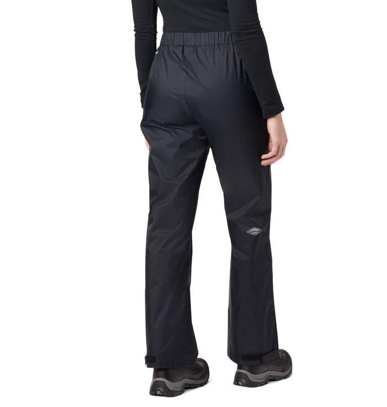 Storm Surge™ Pant | 010 | XS Women's Storm Surge™ Rain Pants, Black, back