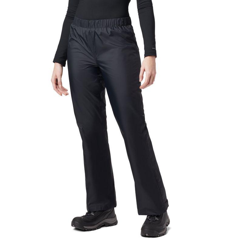 Storm Surge™ Pant | 010 | XS Women's Storm Surge™ Rain Pants, Black, front