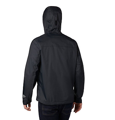Men's EvaPOURation™ Omni-Tech™ Jacket EvaPOURation™ Jacket | 820 | XL, Black, back