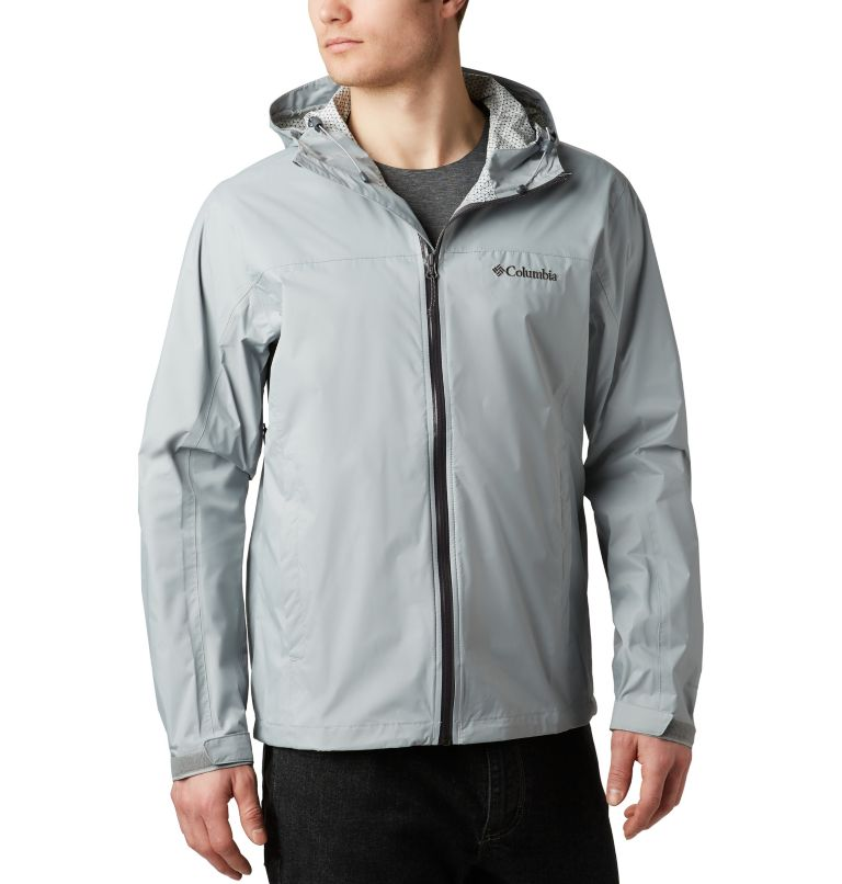 Men's EvaPOURation™ Omni-Tech™ Jacket Men's EvaPOURation™ Omni-Tech™ Jacket, front