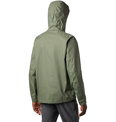 Men's EvaPOURation™ Omni-Tech™ Jacket EvaPOURation™ Jacket | 820 | XL, Cypress, back