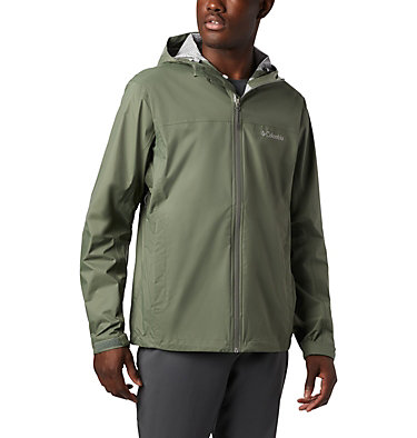 Men's EvaPOURation™ Omni-Tech™ Jacket EvaPOURation™ Jacket | 820 | XL, Cypress, front