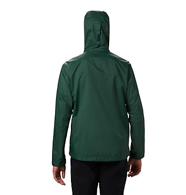 Men's EvaPOURation™ Omni-Tech™ Jacket EvaPOURation™ Jacket | 820 | XL, Rain Forest, back