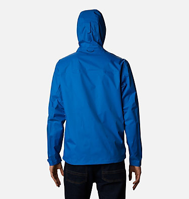 Men's EvaPOURation™ Omni-Tech™ Jacket EvaPOURation™ Jacket | 820 | XL, Bright Indigo, back