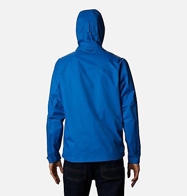 Men's EvaPOURation™ Omni-Tech™ Jacket EvaPOURation™ Jacket | 820 | XL, Bright Indigo, back
