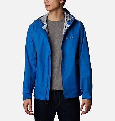 Men's EvaPOURation™ Omni-Tech™ Jacket EvaPOURation™ Jacket | 820 | XL, Bright Indigo, front