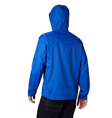Men's EvaPOURation™ Omni-Tech™ Jacket EvaPOURation™ Jacket | 820 | XL, Azul, back