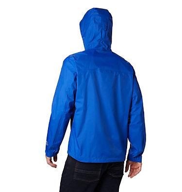 Men's EvaPOURation™ Omni-Tech™ Jacket EvaPOURation™ Jacket | 820 | XL, Azul, back