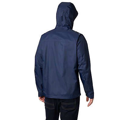 Men's EvaPOURation™ Omni-Tech™ Jacket EvaPOURation™ Jacket | 820 | XL, Collegiate Navy, back