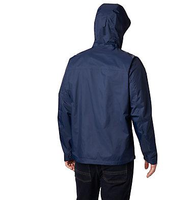 Men's EvaPOURation™ Omni-Tech™ Jacket EvaPOURation™ Jacket | 820 | XL, Collegiate Navy, back