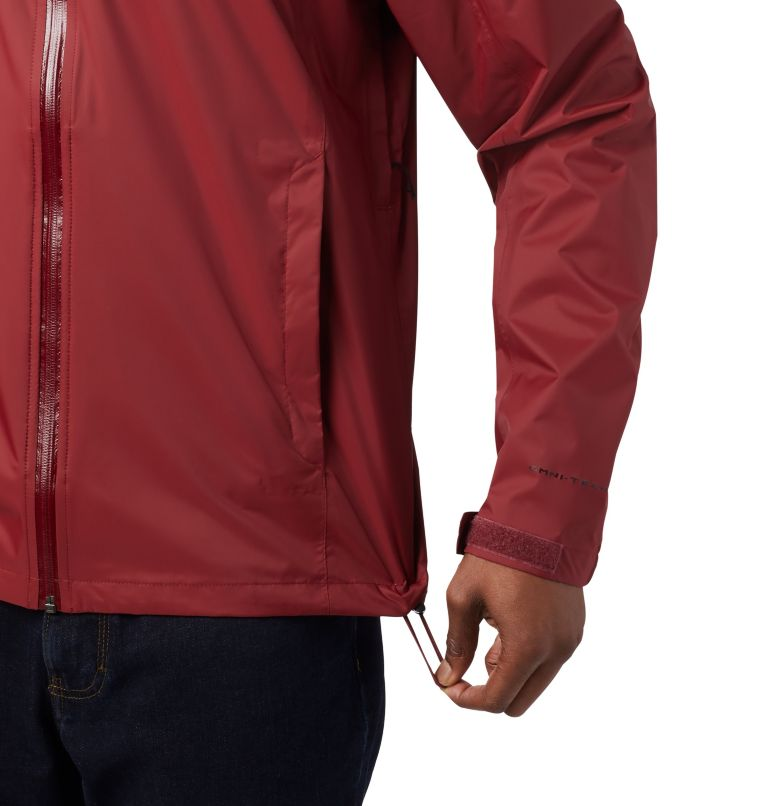 EvaPOURation™ Jacket | 664 | S Men's EvaPOURation™ Omni-Tech™ Jacket, Red Jasper, a2