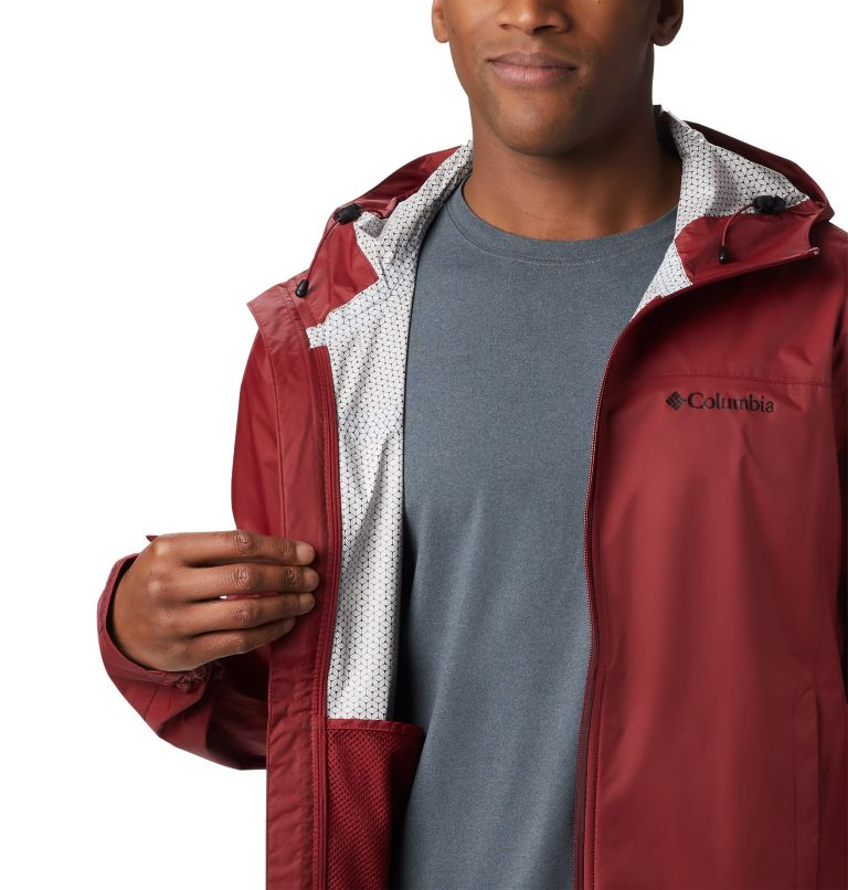 EvaPOURation™ Jacket | 664 | S Men's EvaPOURation™ Omni-Tech™ Jacket, Red Jasper, a3