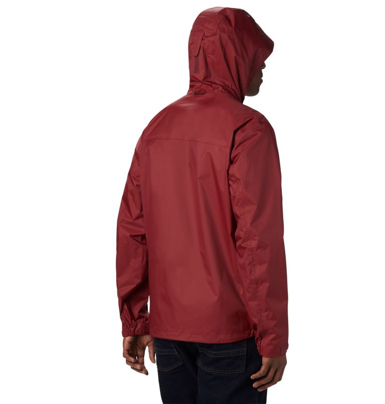 EvaPOURation™ Jacket | 664 | S Men's EvaPOURation™ Omni-Tech™ Jacket, Red Jasper, back