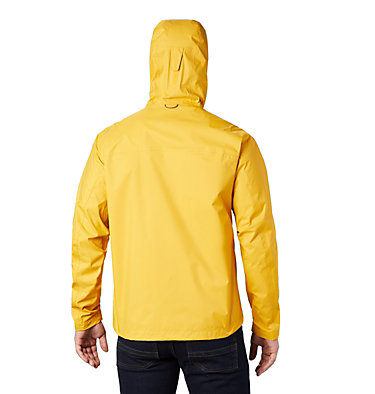 Men's EvaPOURation™ Omni-Tech™ Jacket EvaPOURation™ Jacket | 820 | XL, Bright Gold, back
