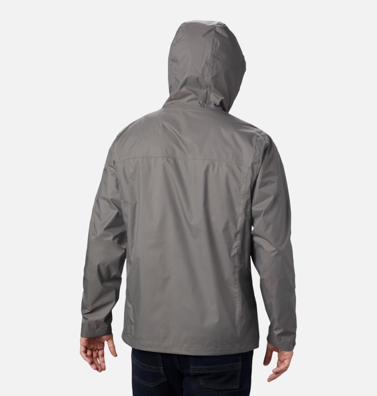 Watertight™ II Jacket | 023 | L Men's Watertight™ II Jacket, City Grey, back