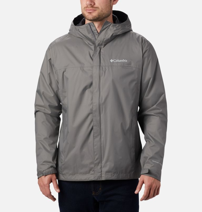 Watertight™ II Jacket | 023 | L Men's Watertight™ II Jacket, City Grey, front