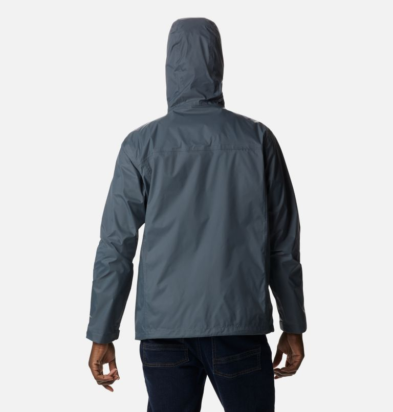 Watertight™ II Jacket | 053 | L Men's Watertight™ II Jacket, Graphite, back