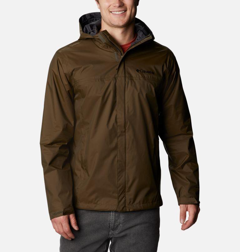 Watertight™ II Jacket | 320 | S Men's Watertight™ II Jacket, Olive Green, Shark, front