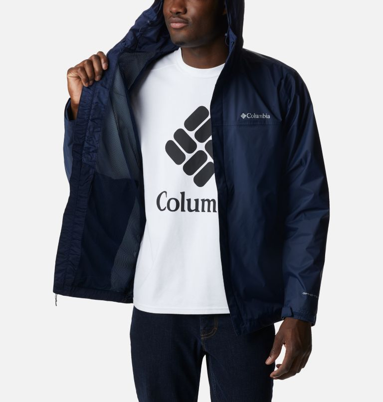 Watertight™ II Jacket | 464 | S Men's Watertight™ II Jacket, Collegiate Navy, a3