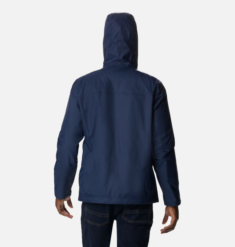 Watertight™ II Jacket | 464 | S Men's Watertight™ II Jacket, Collegiate Navy, back