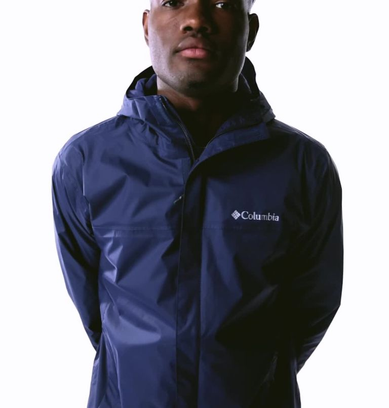Watertight™ II Jacket | 464 | XXL Men's Watertight™ II Rain Jacket, Collegiate Navy, video