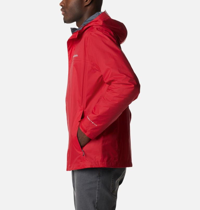 Watertight™ II Jacket | 613 | S Men's Watertight™ II Jacket, Mountain Red, a1